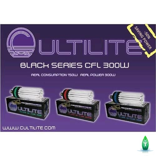 Cultilite - Cfl Black series 300W agro
